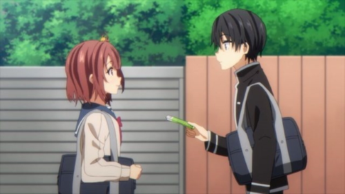 Himawari and Joro from the anime series ORESUKI Are you the only one who loves me?