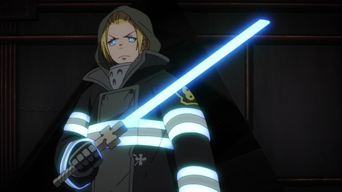 Arthur Boyle from the anime series Fire Force