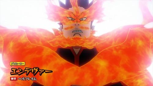 Endeavor from the anime series My Hero Academia season 4
