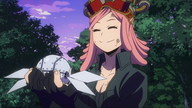 Mei Hatsume from the anime series My Hero Academia season 4
