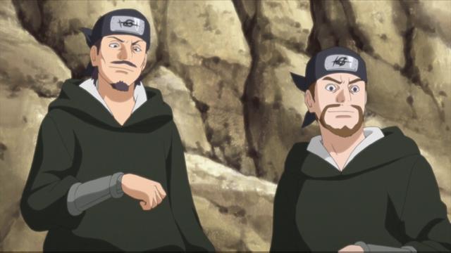 Mujina Gang members from the anime series Boruto: Naruto Next Generations