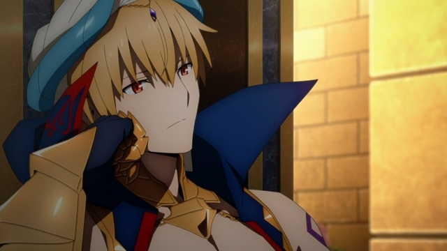 Gilgamesh (Caster) from the anime Fate/Grand Order: Absolute Demonic Front - Babylonia