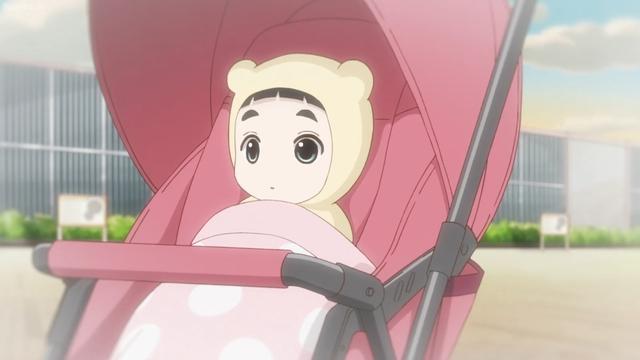 Baby Hime from the anime series Kakushigoto