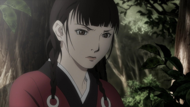 Rin Asano from the anime series Blade of the Immortal