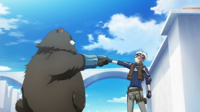 Shu and Ray Starling from the anime series Infinite Dendrogram