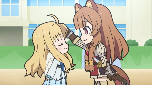 Filo and Raphtalia (The Rising of the Shield Hero) from the anime series Isekai Quartet 2