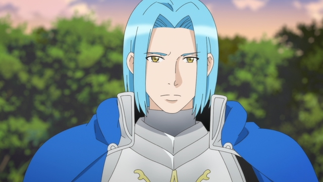 Sir Ferdinand from the anime series Ascendance of a Bookworm season 2