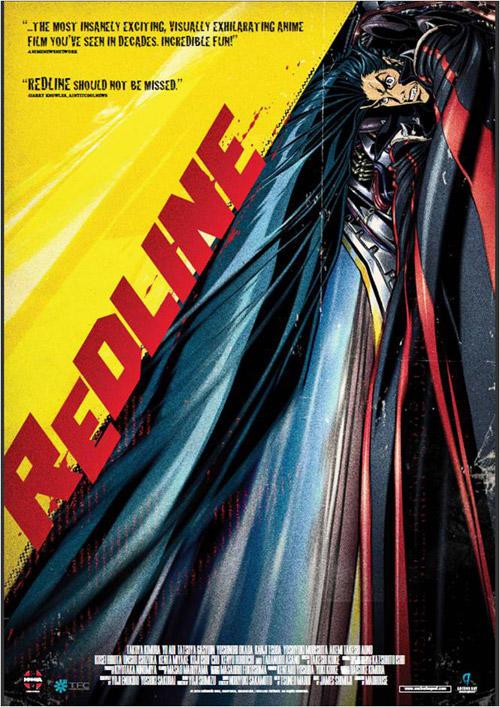 Redline anime movie cover art