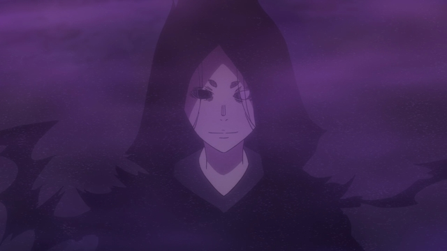 The Benefactor from the anime series Fire Force season 2