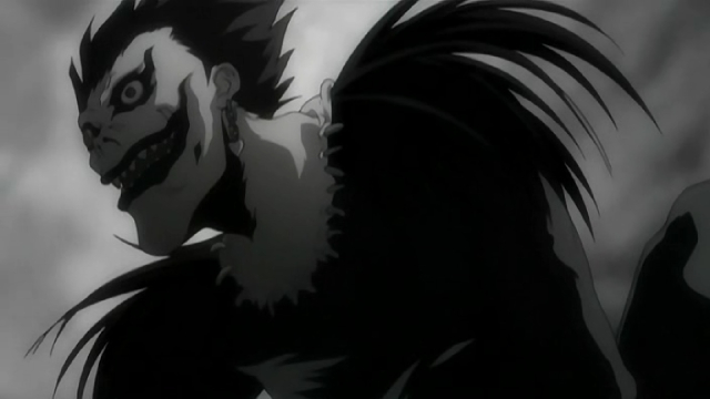 Ryuk from the anime series Death Note