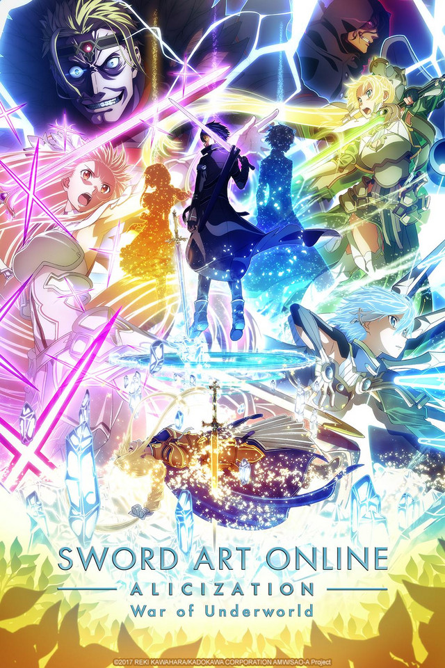 Sword Art Online: Alicization - War of Underworld 2nd Season anime series cover art