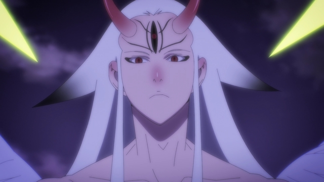 Jegal cosplaying as Kaguya from Naruto (probably) from the anime series The God of High School