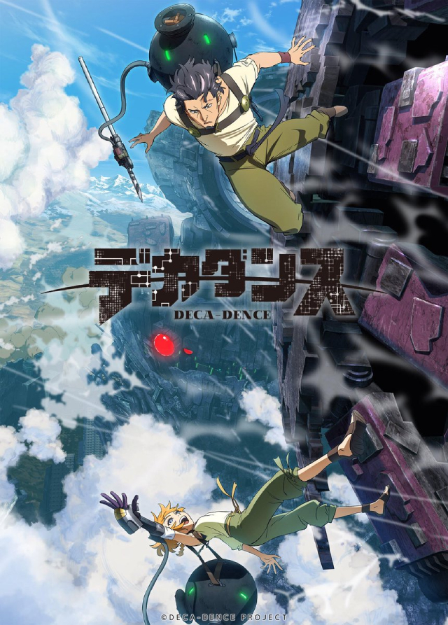 Deca-Dence anime series cover art