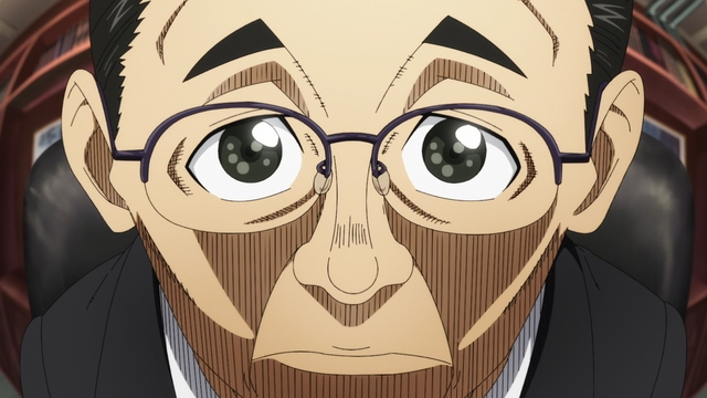 The president of Haijima Industries from the anime series Fire Force Season 2