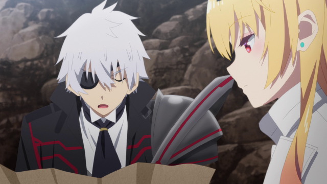 Hajime and Yue from the anime series Arifureta: From Commonplace to World's Strongest