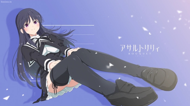 Yuyu Shirai from the anime series Assault Lily: Bouquet