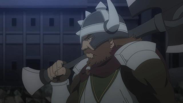 Gareth Landrock from the anime series DanMachi III