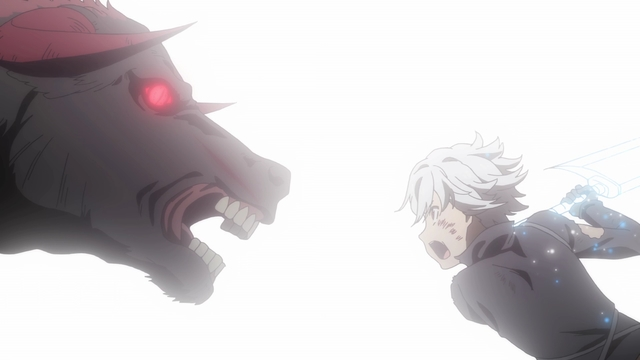 Bell vs. Asterius from the anime series DanMachi III
