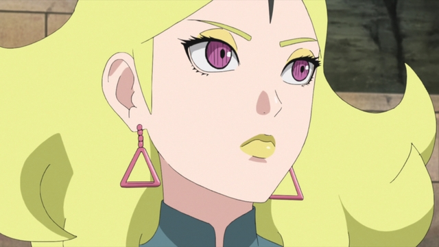 Delta from the anime series Boruto: Naruto Next Generations