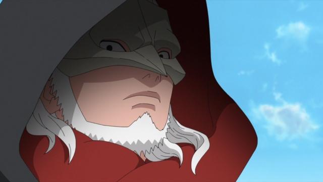Koji Kashin of Kara from the anime series Boruto: Naruto Next Generations