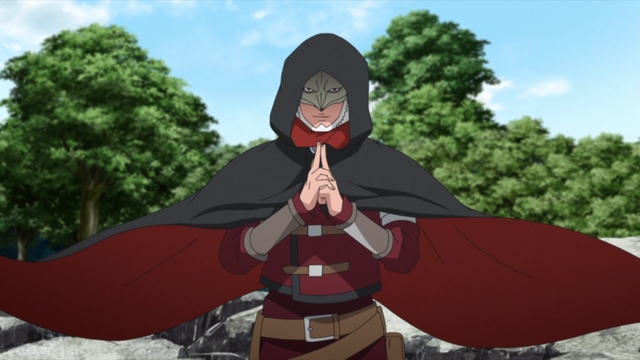 Koji Kashin from the anime series Boruto: Naruto Next Generations