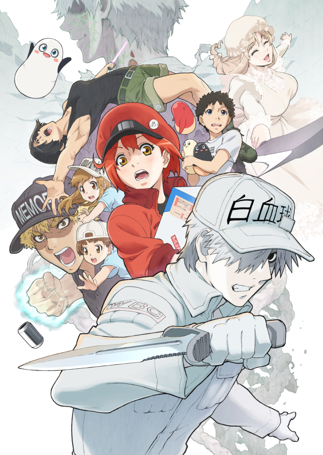 Cells at Work!! anime series cover art