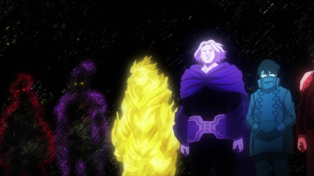 Previous One-for-All users from the anime series My Hero Academia Season 5