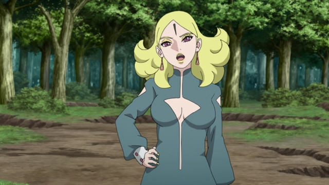 Delta being cocky from the anime series Boruto: Naruto Next Generations