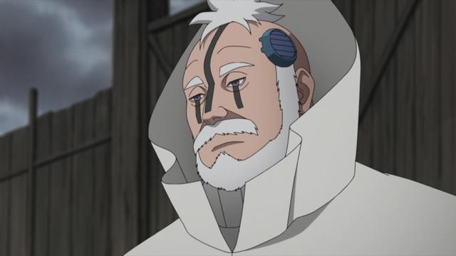 Boro from the anime series Boruto: Naruto Next Generations