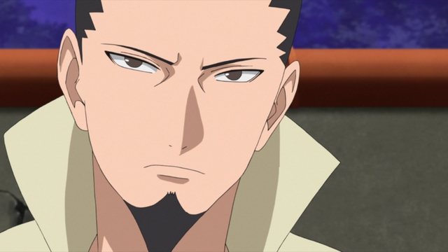 Shikamaru Nara from the anime series Boruto: Naruto Next Generations