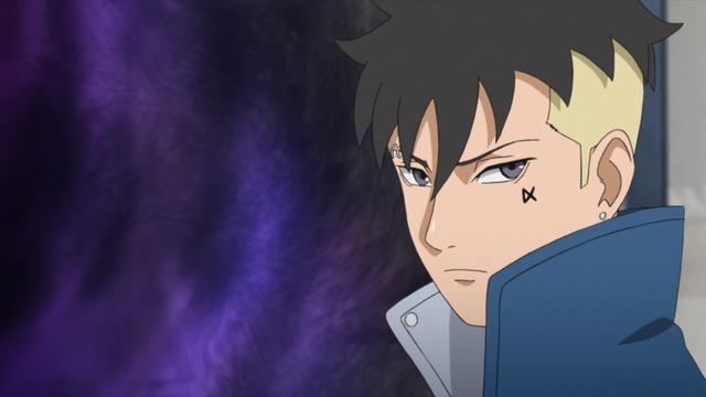 Kawaki going through a time-space portal from the anime series Boruto: Naruto Next Generations