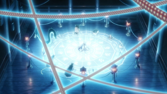 The original Zodiac banquet from the anime series Fruits Basket The Final Season