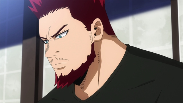 Endeavor, but he's not on fire from the anime series My Hero Academia Season 5