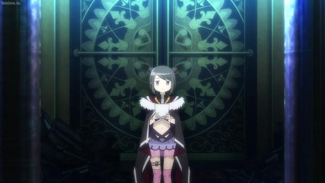 Kuroe from the anime series Magia Record: Puella Magi Madoka Magica 2nd Season