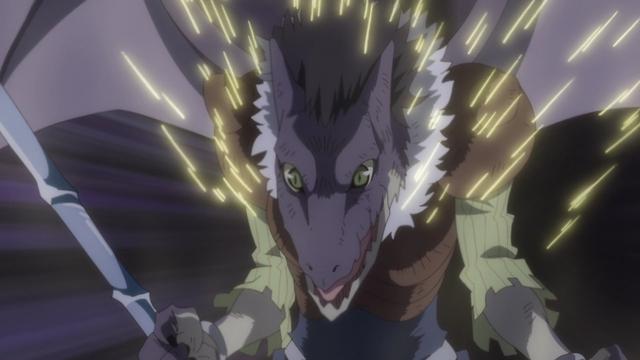 Gabiru from the anime series That Time I Got Reincarnated as a Slime Season 2 Part 2