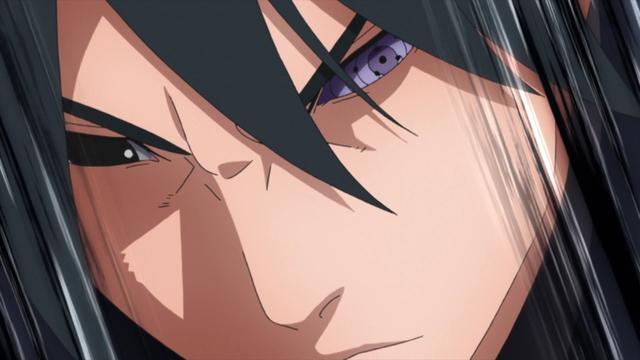 Sasuke Uchiha from the anime series Boruto: Naruto Next Generations