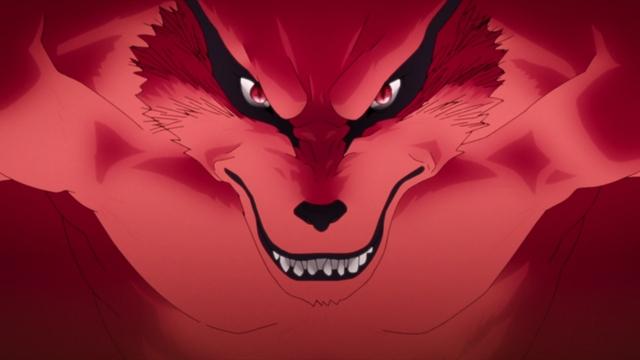 Kurama from the anime series Boruto: Naruto Next Generations