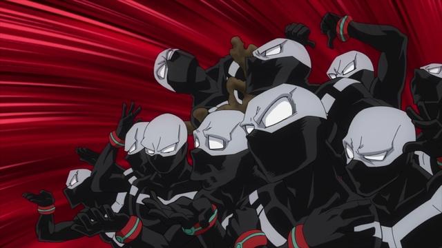 Twice (many) from the anime series My Hero Academia Season 5