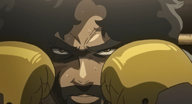 Joe from the anime series Nomad: Megalo Box 2