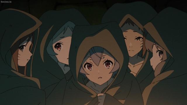 The beastkin children saved by Rudy and Ruijerd from the anime series Mushoku Tensei: Jobless Reincarnation Part 2