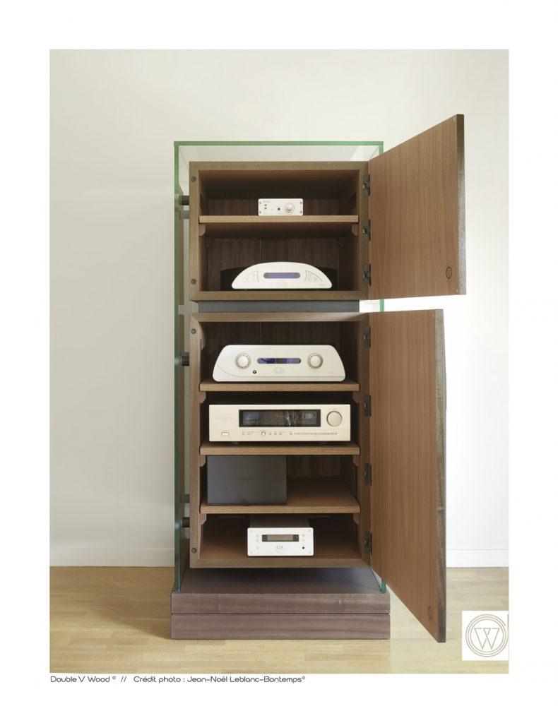 meuble hifi haut de gamme design