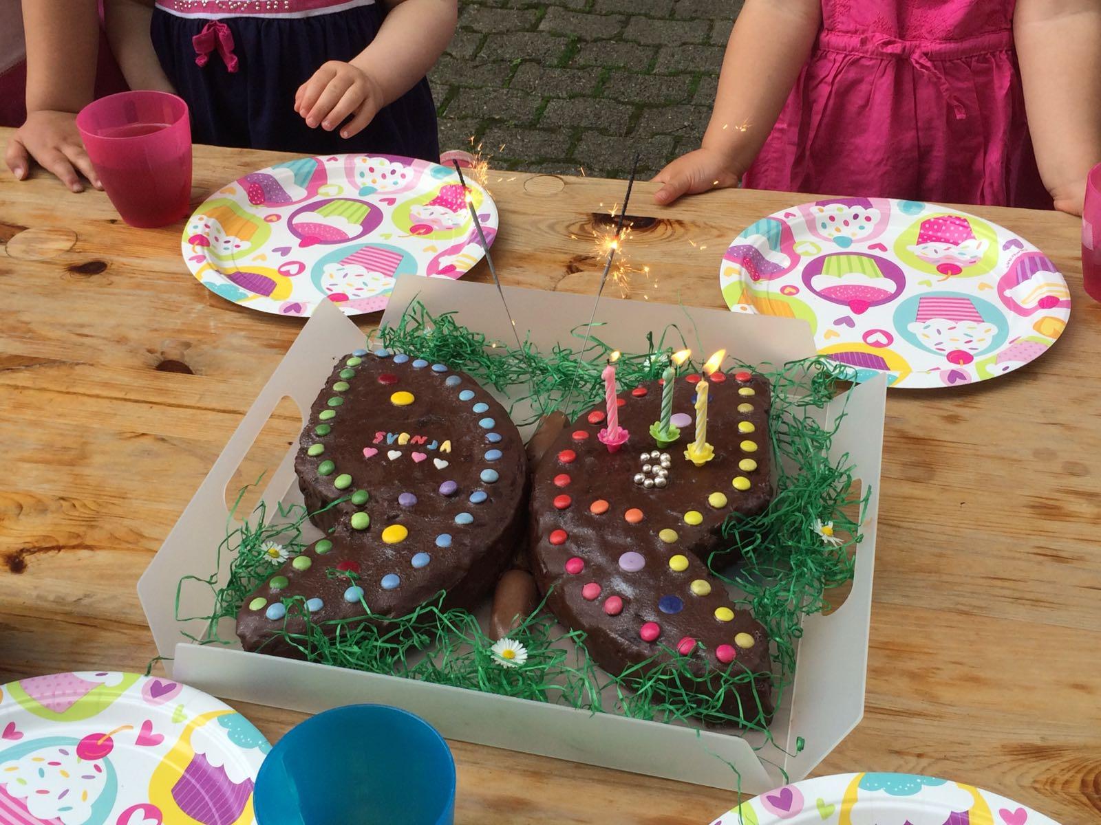 Die Coolsten Geburtstagskuchen Der Schmetterling Doublyblessedblog
