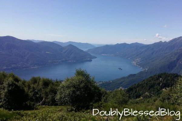 Tessin mit Kindern - Cardada - Blick auf den Lago Maggiore