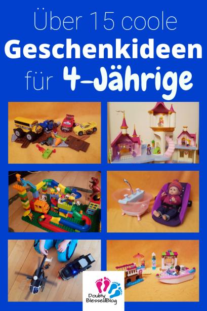 Geschenkideen für 4-jährige Mädchen und Junge