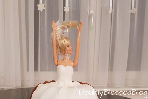 Brautkuchen oder Prinzessinnenkuchen selber dekorieren