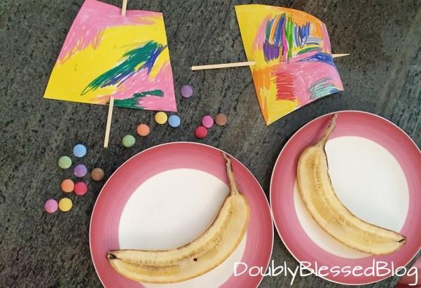 Bananenschiffchen - Nachtisch, Dessert, Zvieri für Kinder