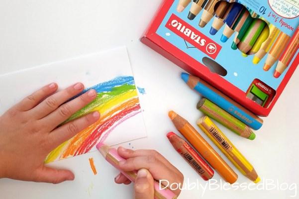 EInladungskarte zum EInhorn-Geburtstag basteln mit Kindern