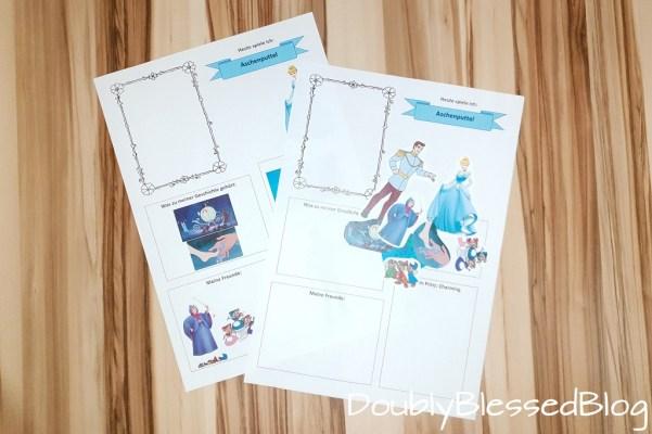 DIY Prinzessinnen-Stickerparade