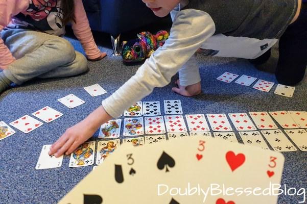 Kinderspiele - Französische Karten - Elferraus