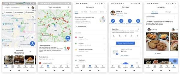 Nouveau google maps